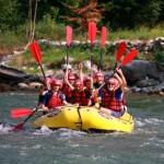 Rafting Montagna
