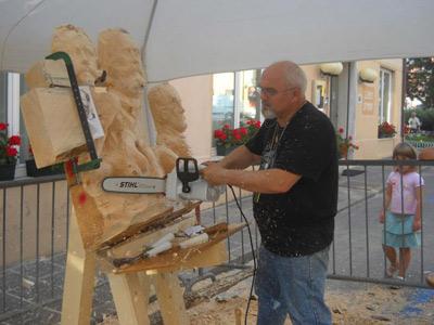 Sculture in legno tecnica