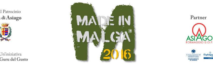 Weekend made in malga 2016 asiago for Offerte weekend asiago