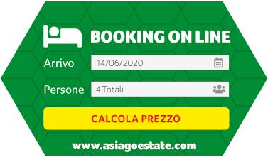 Booking Asiagoestate