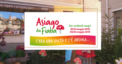 Weekend Asiago da Fiaba Maggio 2019