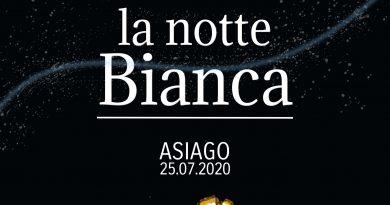 Notte Bianca ad Asiago – Sabato 25 Luglio 2020